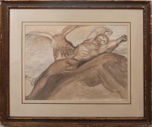 Attributed to William Lock (1767-1847):Prometheus Bound