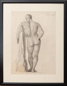 Valentin Molliens (1868-1937): Farnese Hercules