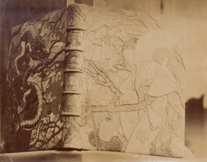 Victor Prouvé (1858-1943): Sketches for the Binding of a Book on Japanese Art