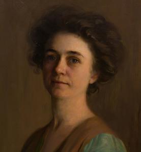 Stephen Greeley Putnam (b. 1852): Portrait of Caroline Chester Knickerbacker Porter (Mrs. Nathan Todd Porter, Jr. 'Vaurie')