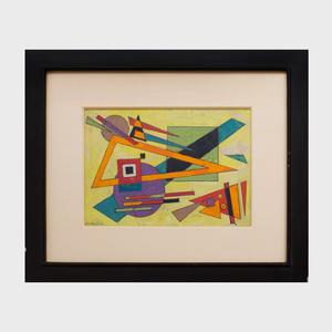 Rolph Scarlett (1889-1984): Geometric Abstraction