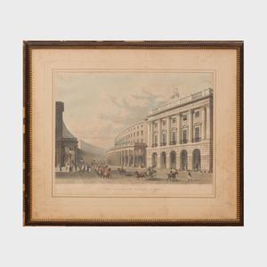 After Thomas Hosmer Shepherd (1793-1864): The Quadrant, Regent Street