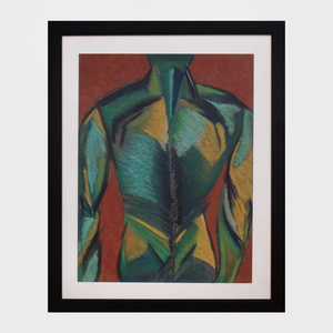 Diane Stendahl: Torso Series Two, Drawing #3