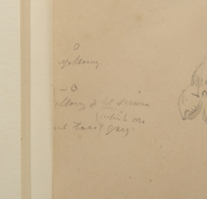 William Strutt (1856-1924): Study of the Front of a Camel; and Study of the Side of a Camel