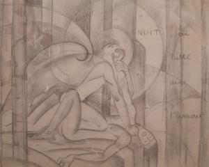 Paul Thevenaz (1891-1921): Tout la Nuit j'ai Lutte avec L'Amour
