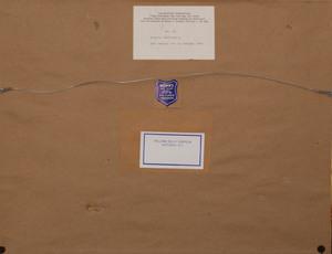 Franco Zeffirelli (b. 1923): Set Design for La Bohème