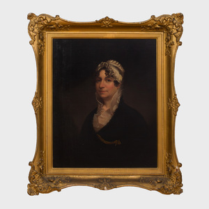 Attributed to Ezra Ames (1768-1836): Portrait Said to be Mrs.Thomas Chester