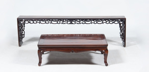 Three Chinese Hardwood Tables
