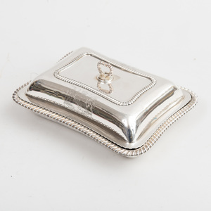 George IV Armorial Silver Vegetable and Cover