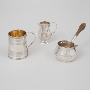 Group of Georgian Silver Wares