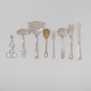 Extensive Group of Silver Flatware