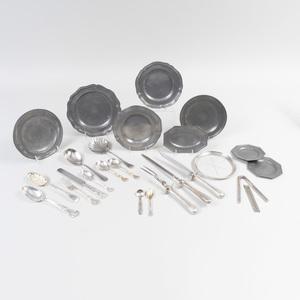 Gorham Silver Plate Part Flatware Service