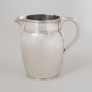 Tiffany Silver Water Pitcher