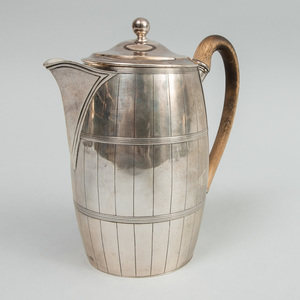 George III Silver Coffee Biggin