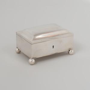 German Silver Sugar Box