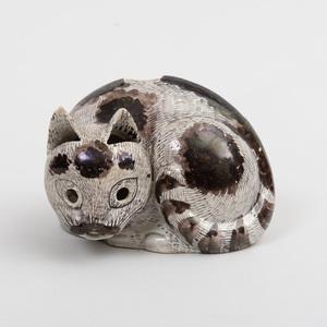 Chinese Kangxi Porcelain Cat Nightlight
