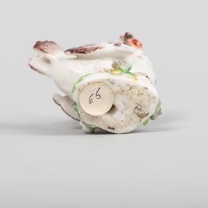Chelsea Porcelain Model of a Hen