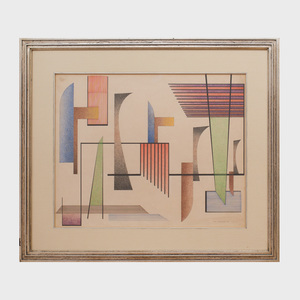 John Sennhauser (1907-1978): Abstract Linear Motifs