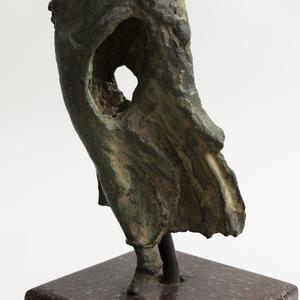 Greek Bronze Figure of Nike