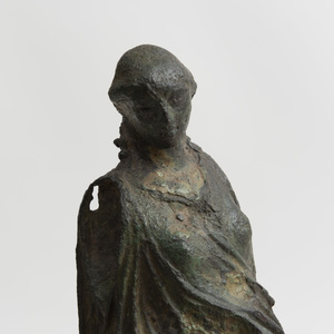 Greek Bronze Figure of Nike