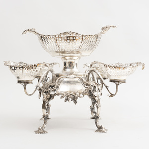 Late Victorian Silver Epergne