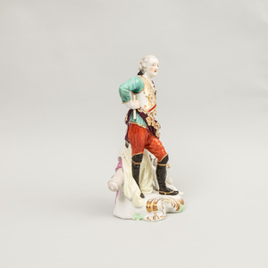 Derby Porcelain Figure of General Conway