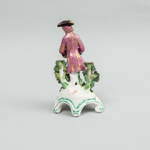 Chelsea Porcelain Figure Emblematic of Winter