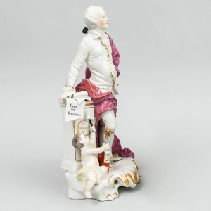 Derby Porcelain Figure of Shakespeare