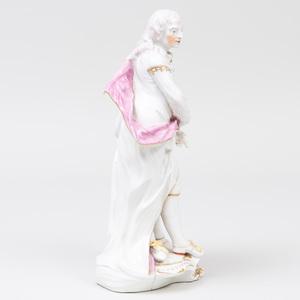 Derby Porcelain Figure of Milton