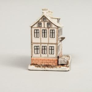 Ludwigsburg Porcelain House Form Pastille Burner