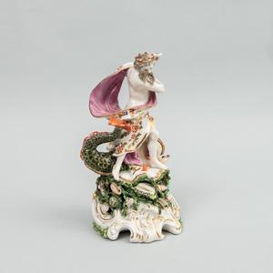 Chelsea Porcelain Figure of Neptune