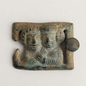 Parthian Bronze Belt Buckle