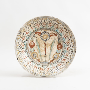 Kubachi Pottery Dish, North Iran