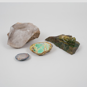 Group of Four Mineral Specimens