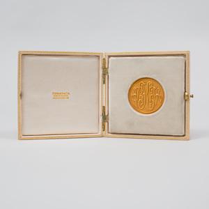Commemorative 18k Gold Coin