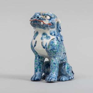 Japanese Porcelain Model of a Buddhistic Lion
