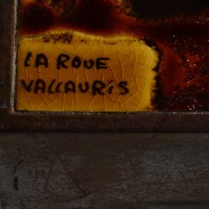 La Roue Vallauris Steel Tile Top Low Table