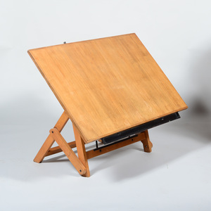 Iron and Oak Articulated Drafting Table