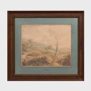 Frederick de Moucheron (1633 - 1686): Landscape