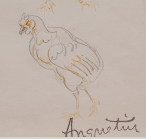Louis Anquetin (1861 - 1932): Chicken Studies