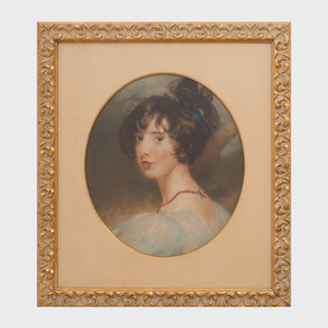After Thomas Lawrence (1769-1830 ): Portrait of Mary Lamb