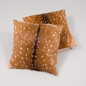 Pair of Antelope Hide Pillows