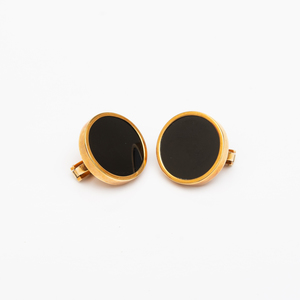 Andrew Grima 18k Gold and Black Onyx Earclips