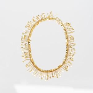 Modernist 18k Gold Necklace