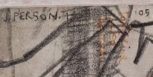 Joel Person (b. 1962):Horse