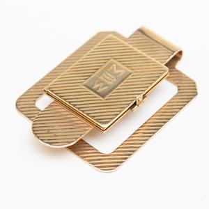 14k Gold Money Clip