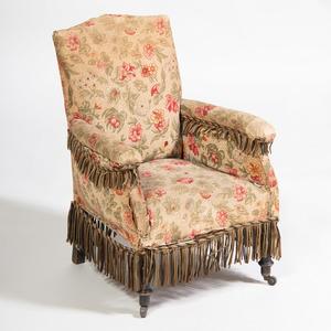 Miniature Victorian Upholstered Armchair