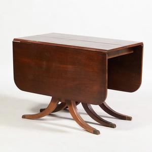 Regency Style Mahogany Extension Dining Table