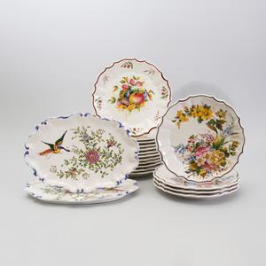 Pair of Modern Modern Italian Majolica Tablewares