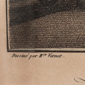 After Horace Vernet (1789-1863): La Duchesse de la Valliere; Aventure des Bosquets; Mlle de la Valliere; Louis XIV; and La Reine